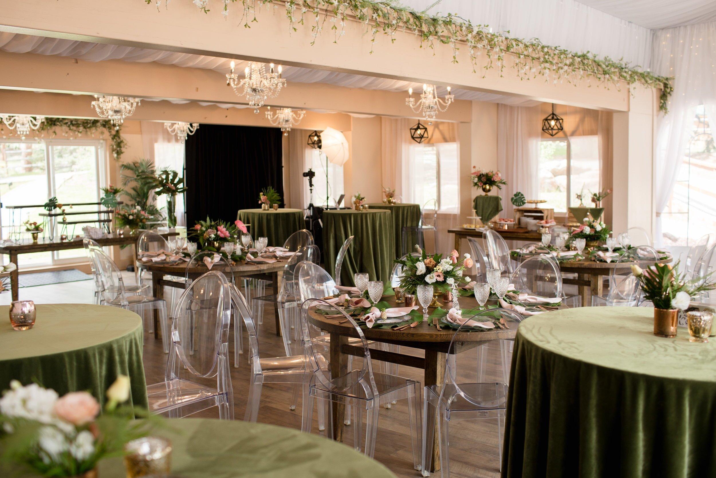 Colorado Tropical Wedding