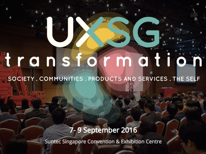 UXSG: Transformation - This year's UXSG conference theme was