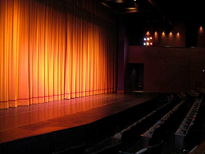 Theater - Max Occupancy 500Sound & Lighting BoothGreenroomWiFi AccessHeating/Air ConditioningOrchestra PitIn-house Technicians