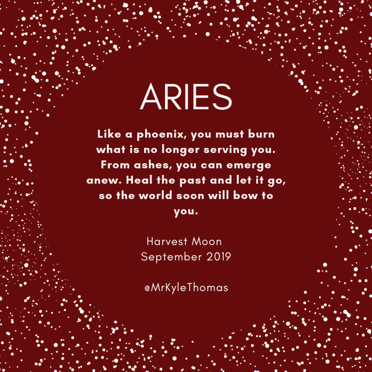 Aries September Full Moon Horoscope