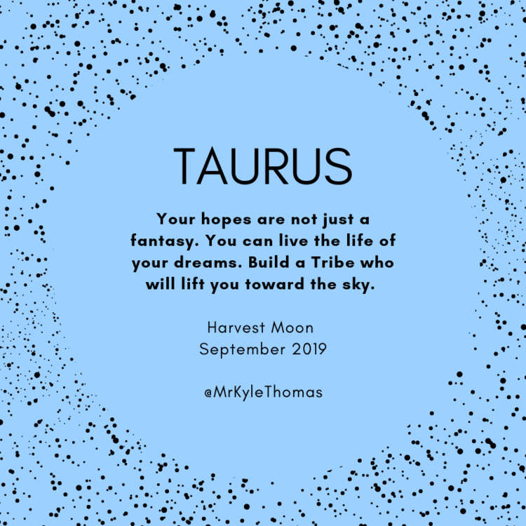Taurus September Full Moon Horoscope