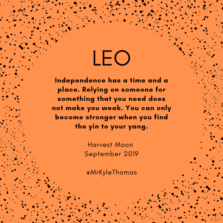 Leo September Full Moon Horoscope