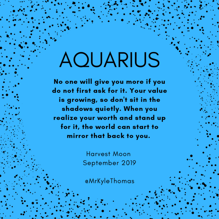 Aquarius September Full Moon Horoscope