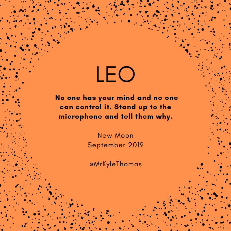 September 2019 New Moon Horoscope  - Leo.png