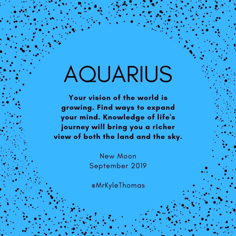 September 2019 New Moon Horoscope  - Aquarius.png