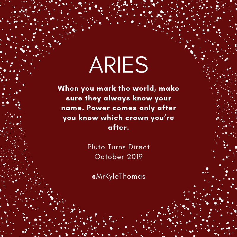 Power Horoscopes - Aries - Pluto Turns Direct - October 2019.png