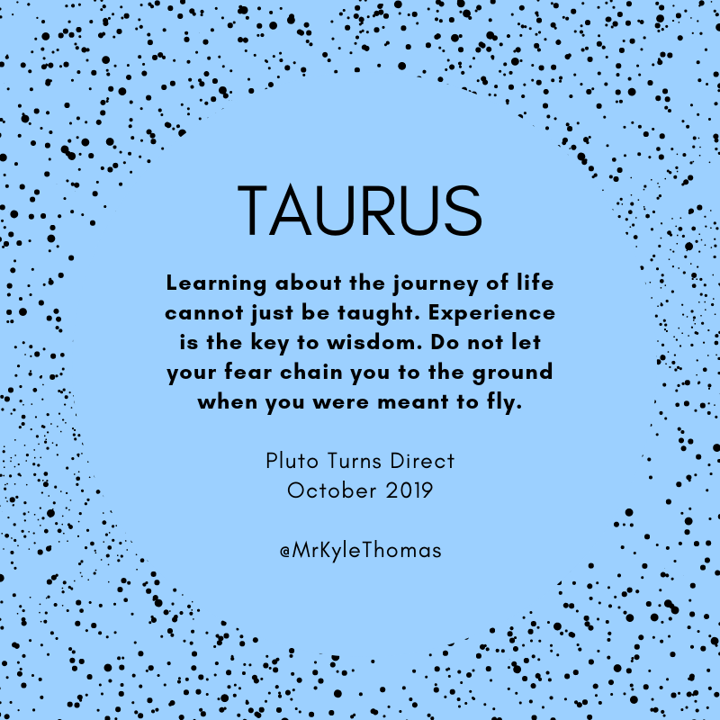 Power Horoscopes - Taurus - Pluto Turns Direct - October 2019.png