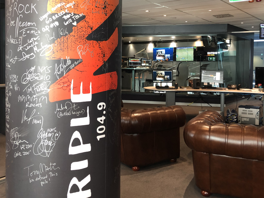 Sit in with the Breakfast show at Triple M