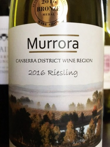 Murrora Wines - Family owned and run boutique vineyard and winery with extremely low production volumes. Their vineyard is a mere hectare, planted to Riesling and Cabernet Sauvignon. Winning bronze medals for their 2015 Riesling, 2016 Riesling and 2016 Cabernet Sauvignon in the Canberra and Region, and Murrumbateman Cool Climate Wine Shows.Find them via their website or Facebook.
