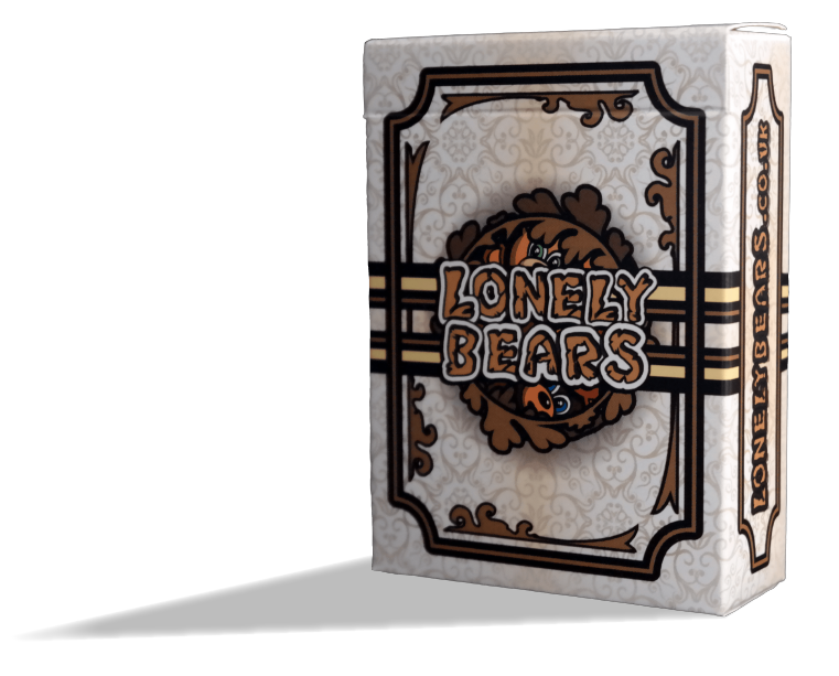 Fun. Strategy. Bear Hugs. Bear Murder. - Lonely Bears is a hilarious 2-4 player casual strategy card game where you arm bears to the teeth and pit them against one another. Endless fun, in your pocket!