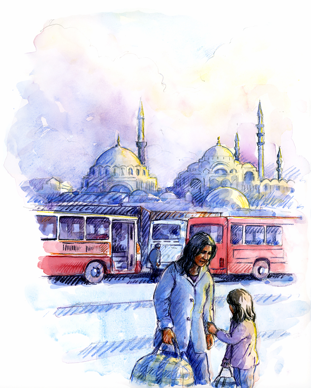 Leaving Instanbul from 'Meltem's Journey'