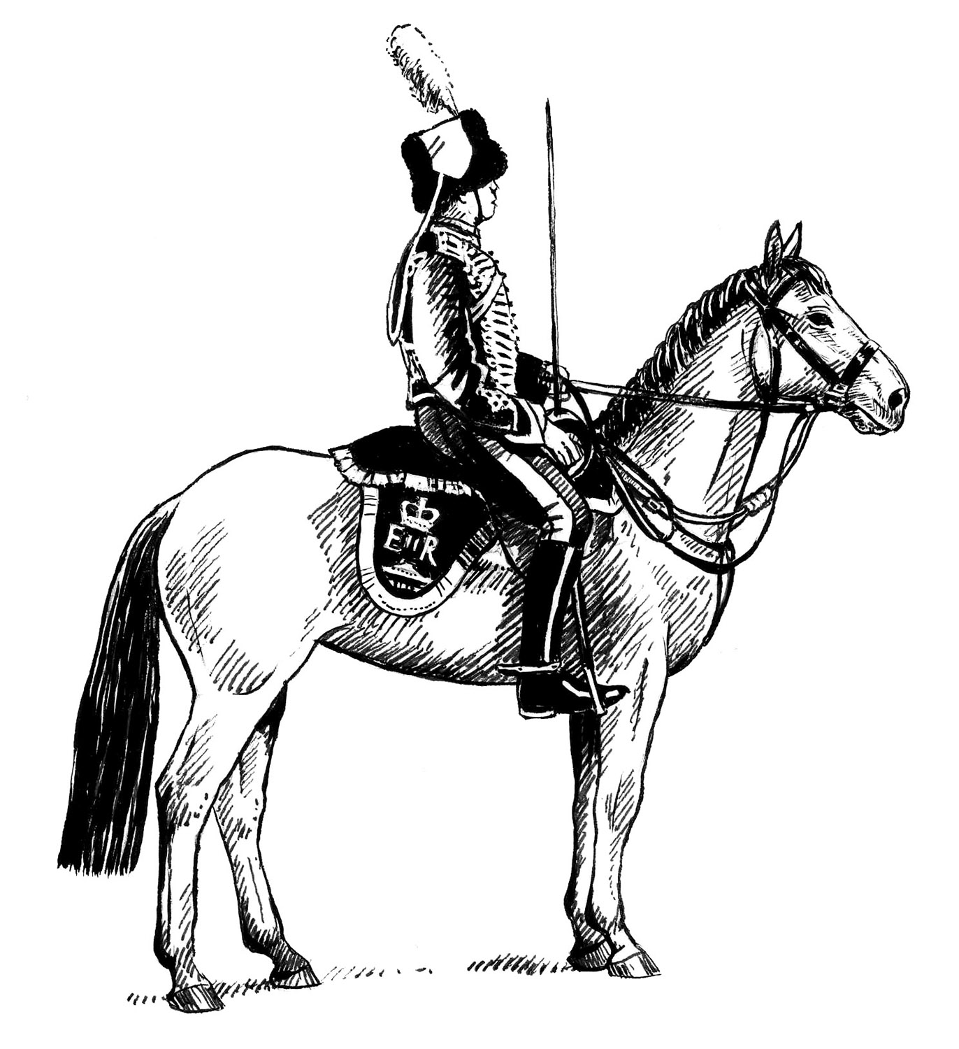 Officer of Kings Troop