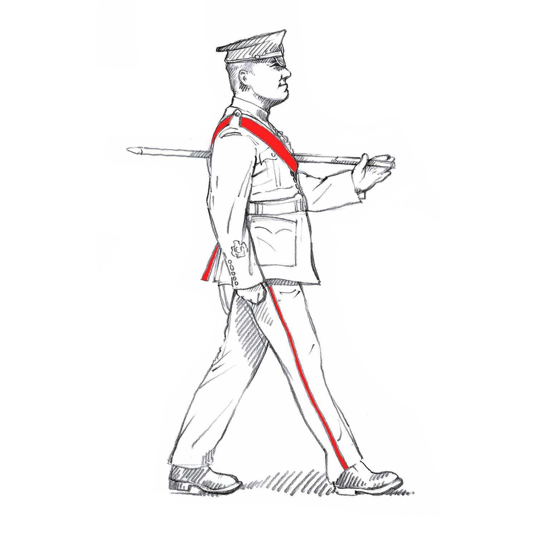 Warrant Officer Class 1, Welsh Guards