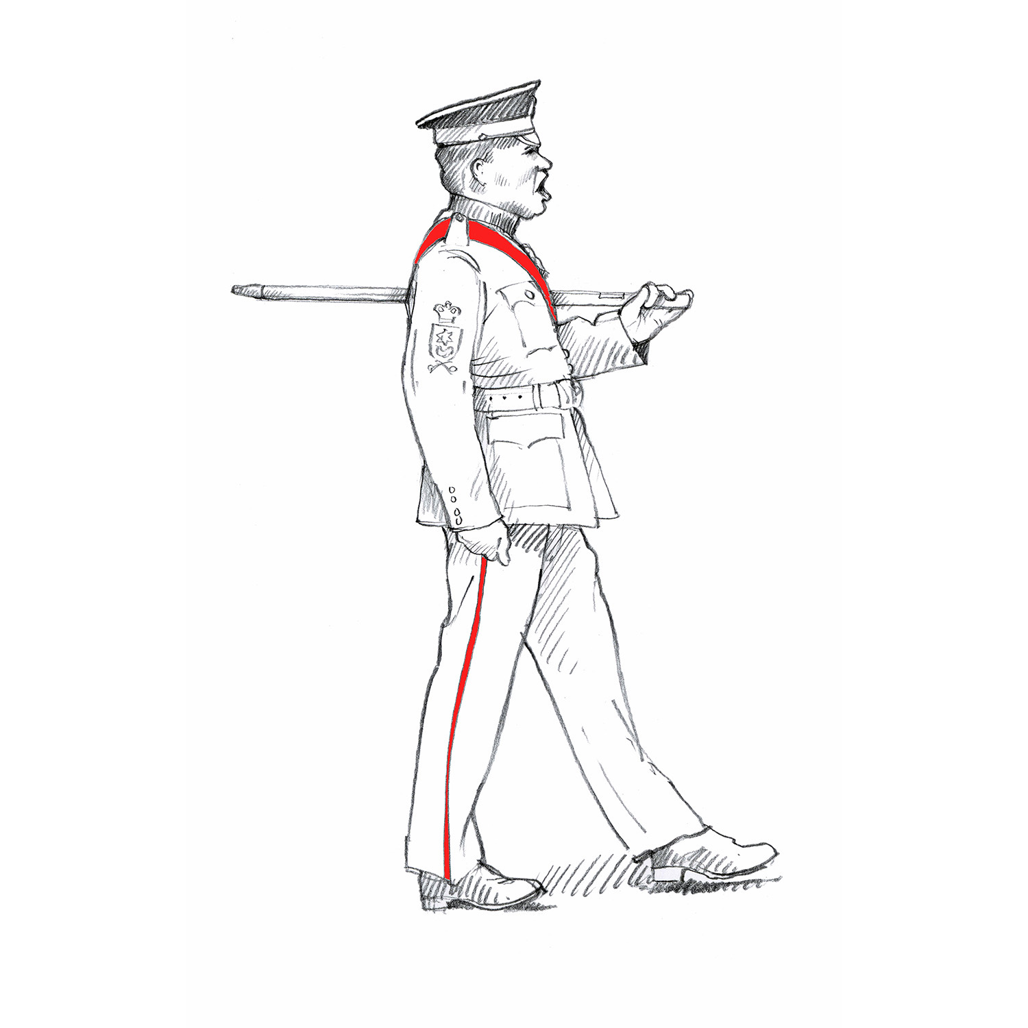 Warrant Officer Class 2, Coldstream Guards