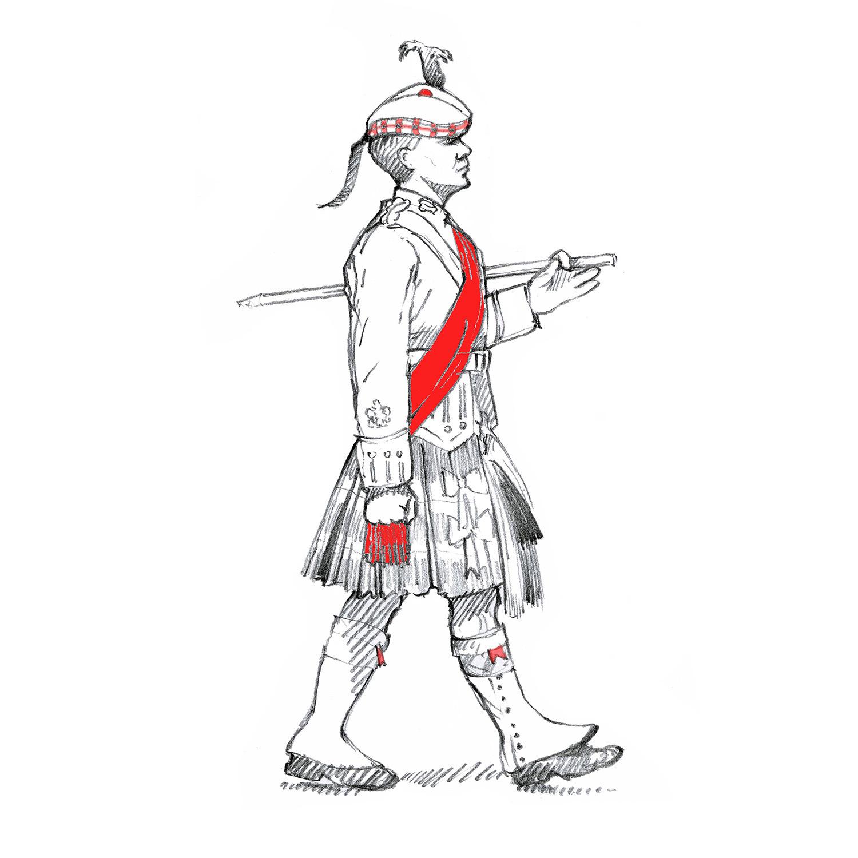 Warrant Officer 1, Royal Regiment of Scotland