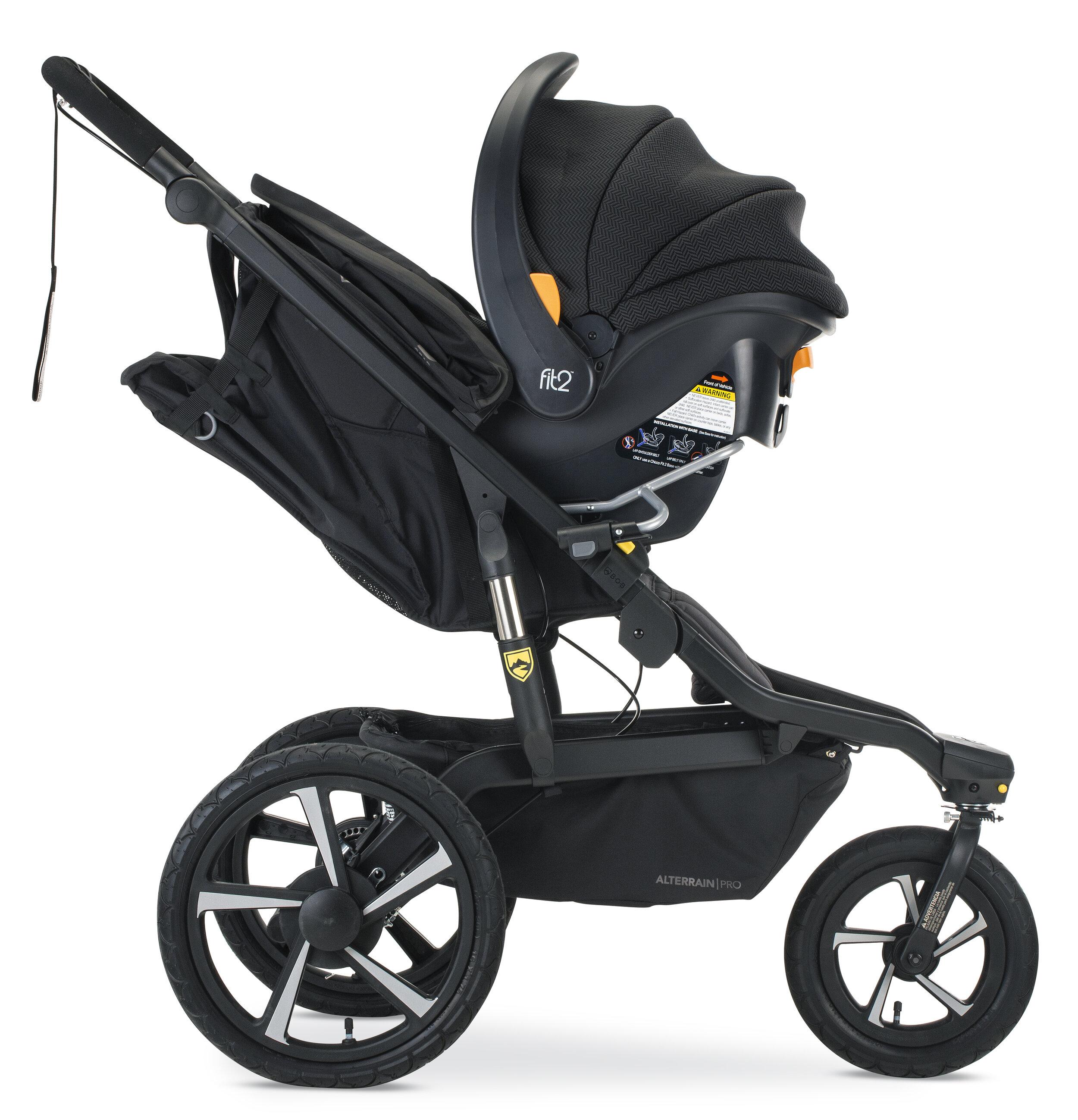 Single Jogging Stroller Adapter for Chicco Infant Car ...