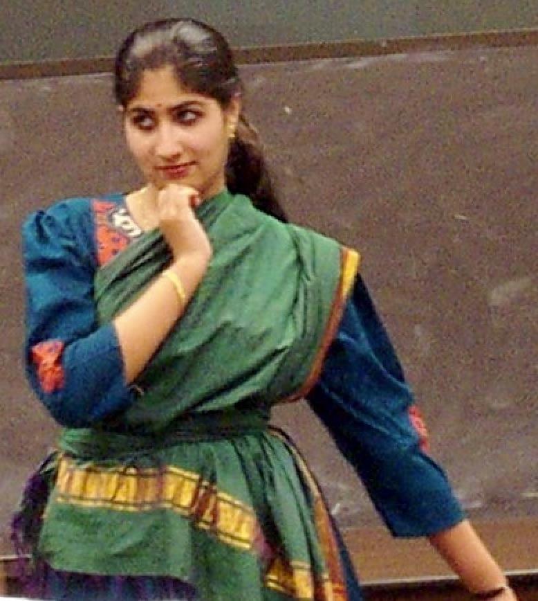 Lavanya Rajagopalan performs at an informal event at UTMB, ca. 2002