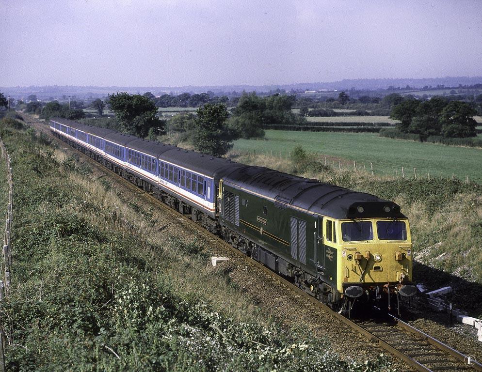 890928 50007 1020 Waterloo to Exeter at Coppleridge.jpg