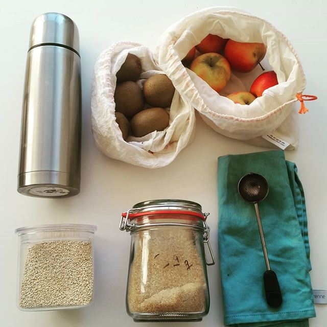 Les petits efforts dans la cuisine 🍎 #zerodechet #zerowaste #green #goingzerowastehome