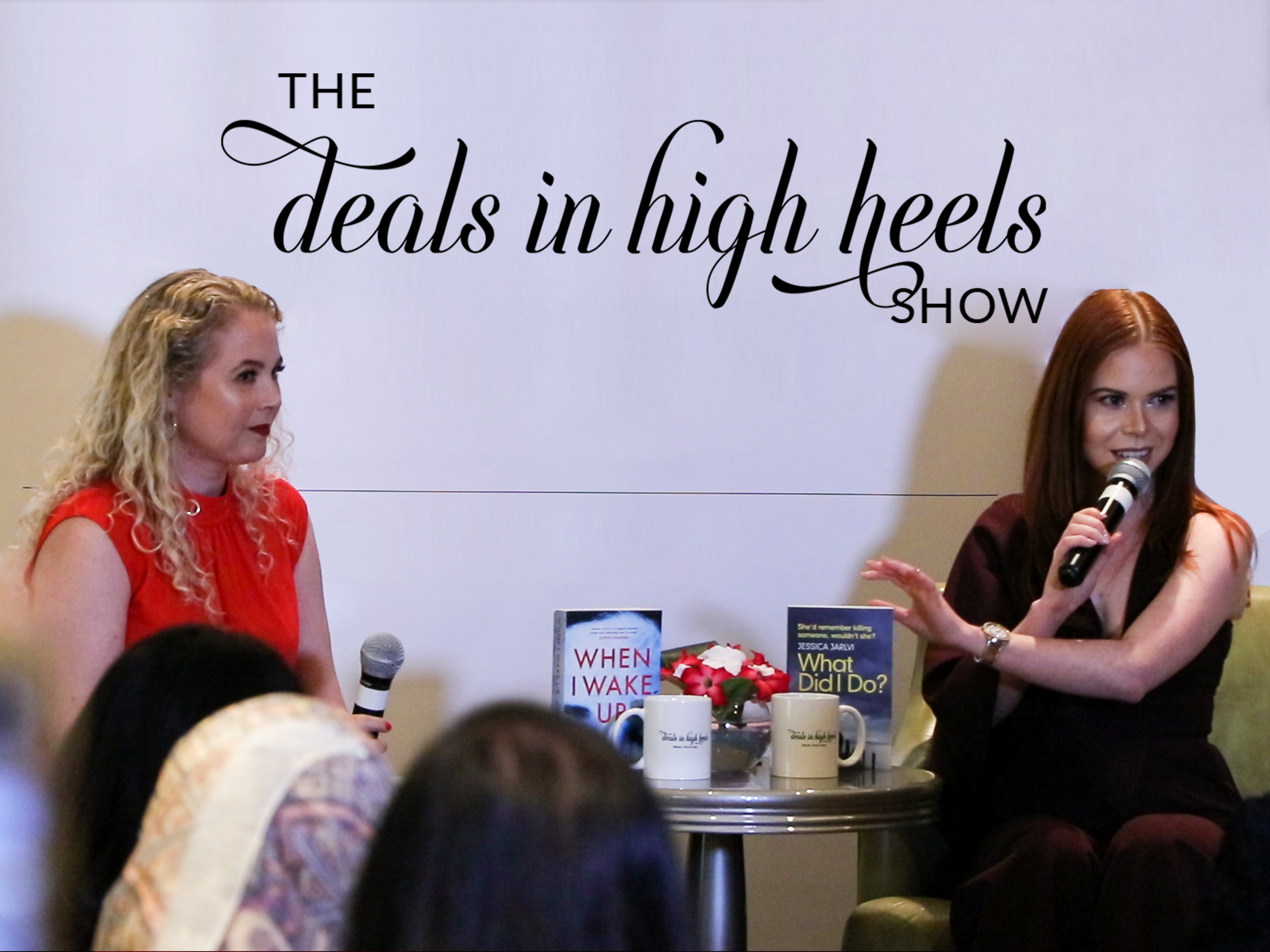 The Deals in High Heels Show is a live talk show that happens in Dubai and is coming soon to New York and Los Angeles.   Watch the Latest Episodes >>
