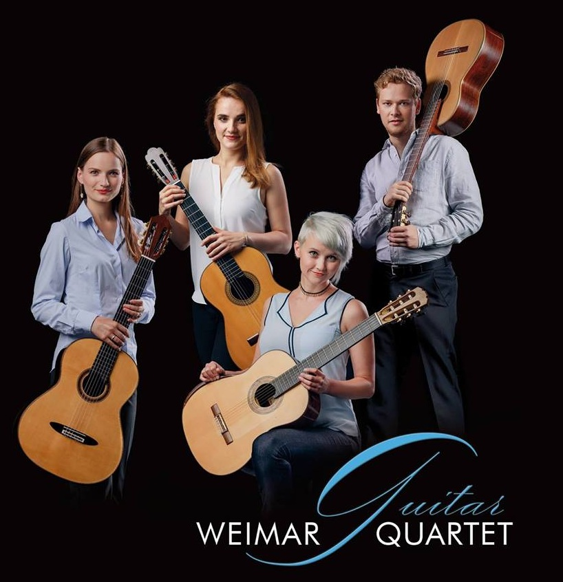 weimar guitar quartet cd cover