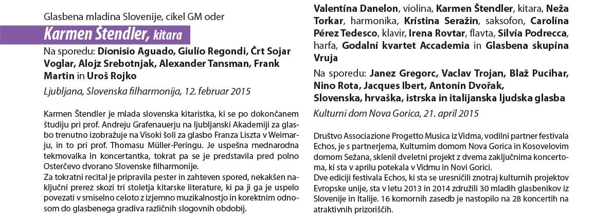 "Kritika koncerta v Slovenski Filharmoniji - Tomaž gržeta, julij 2015, glasbena revija ""GLASNA"""