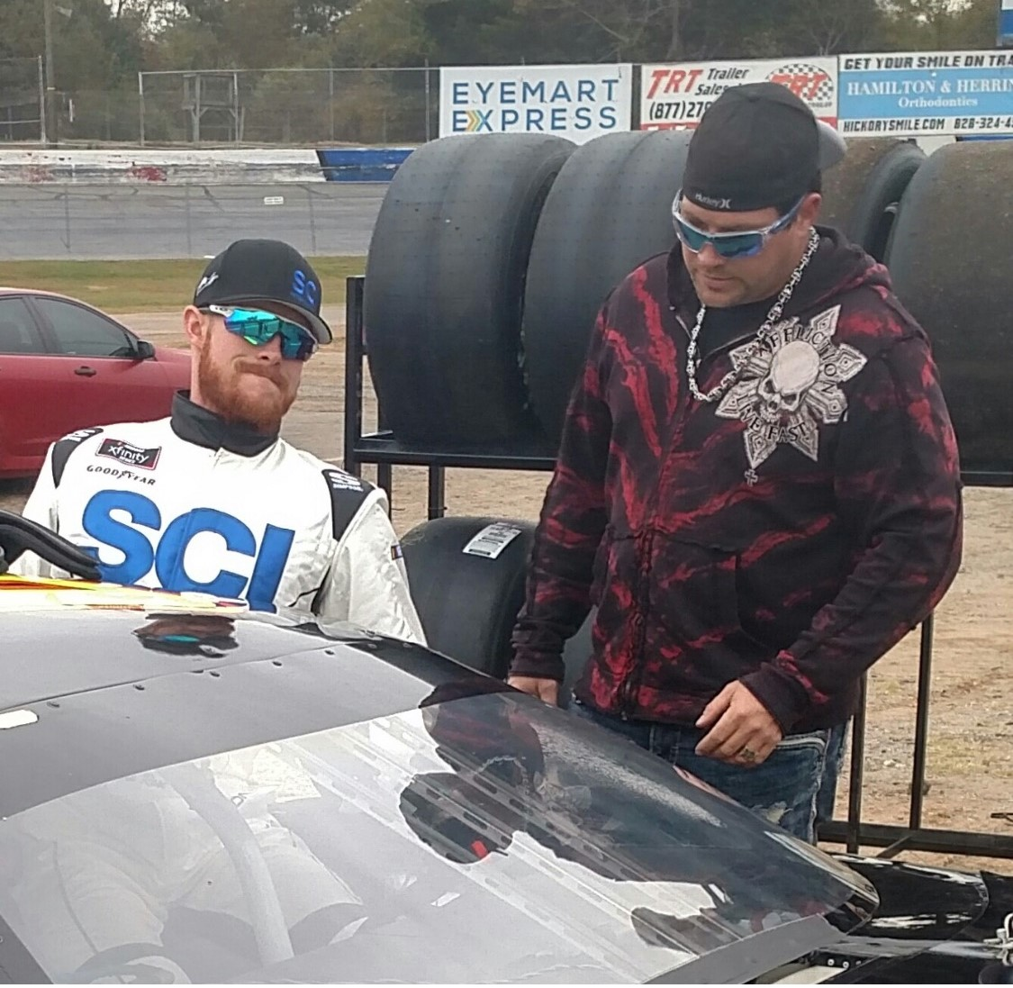 Christian Rose with B.J. Mcleod at Hickory Motor Speedway.jpeg