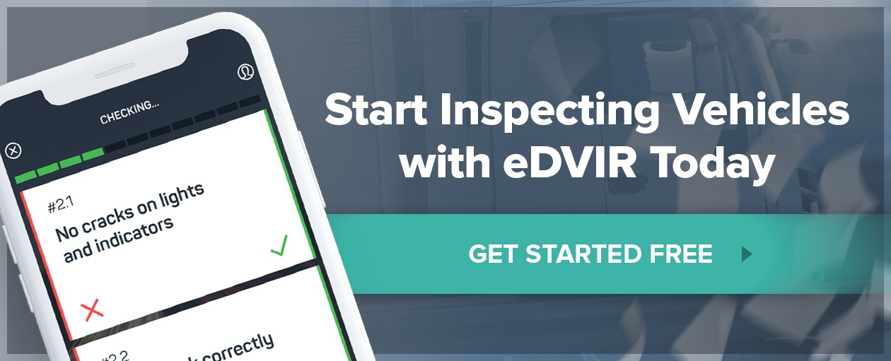 What is a DOT Pre-Trip Inspection Checklist? — Whip Around