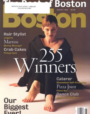 "Best of Boston 1994 - 1994 BEST FACIAL""Lavinia and her assistant, Janet, work magic with their facial massages. Spend an hour or so in this immaculate, calming refuge and you will emerge relaxed and refreshed.""Read More"