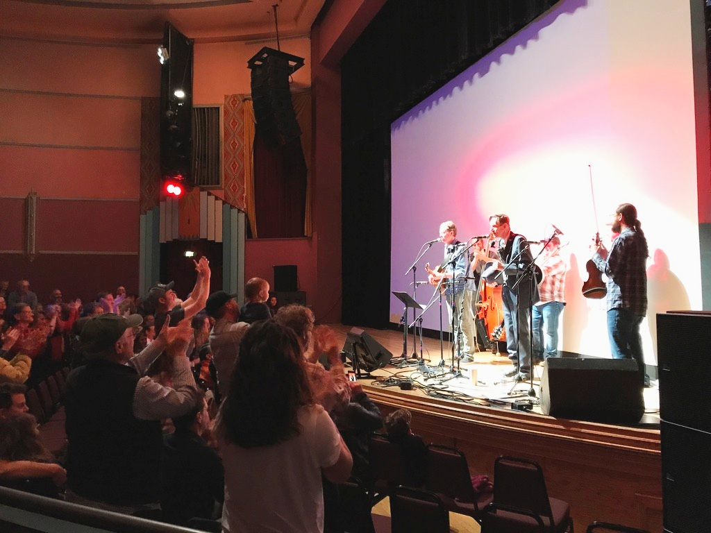 Hippy Bluegrass Church at the Boulder Theatre - May 2019