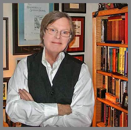 Steven Doyle (BSI). Image from Dan Andriacco's  Baker Street Beat . Click image to visit Dan's blog.