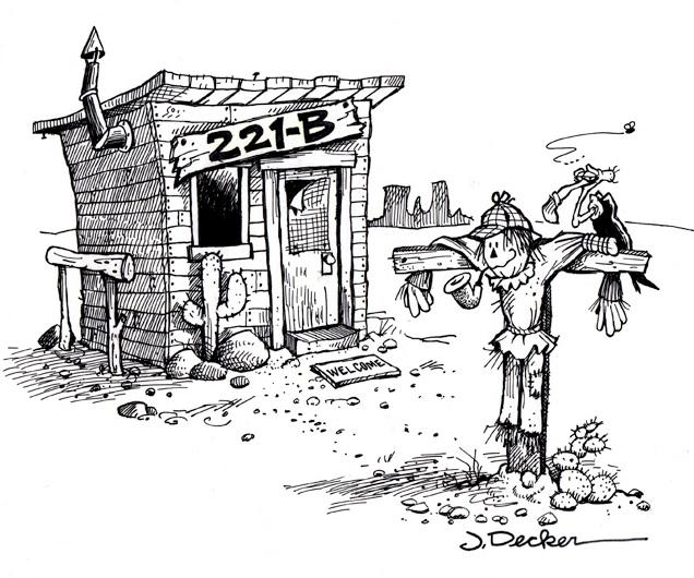 Illustration by Jeff Decker, resident of Pennsylvania, friend of John Shaw