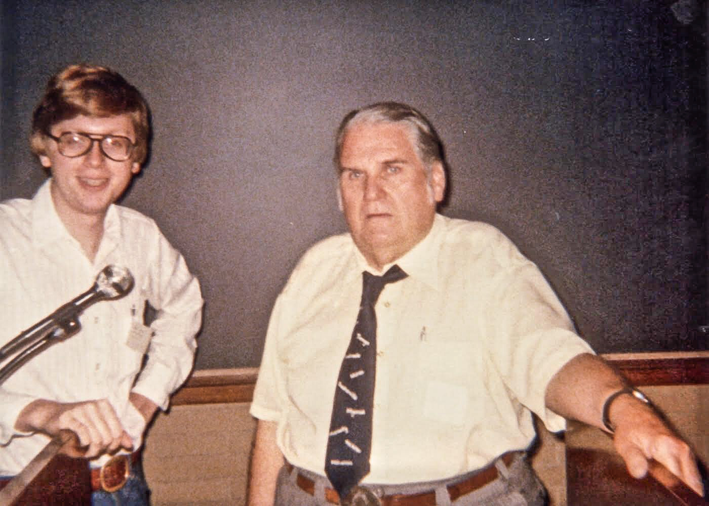 Betzner & Shaw - at the Duquesne Workshop that set Ray Betzner on his way to a life with Sherlock Holmes.