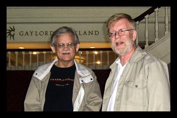 Jim Hawkins with Chris Redmond in Nashville, TN at the Opryland Hotel (2008).