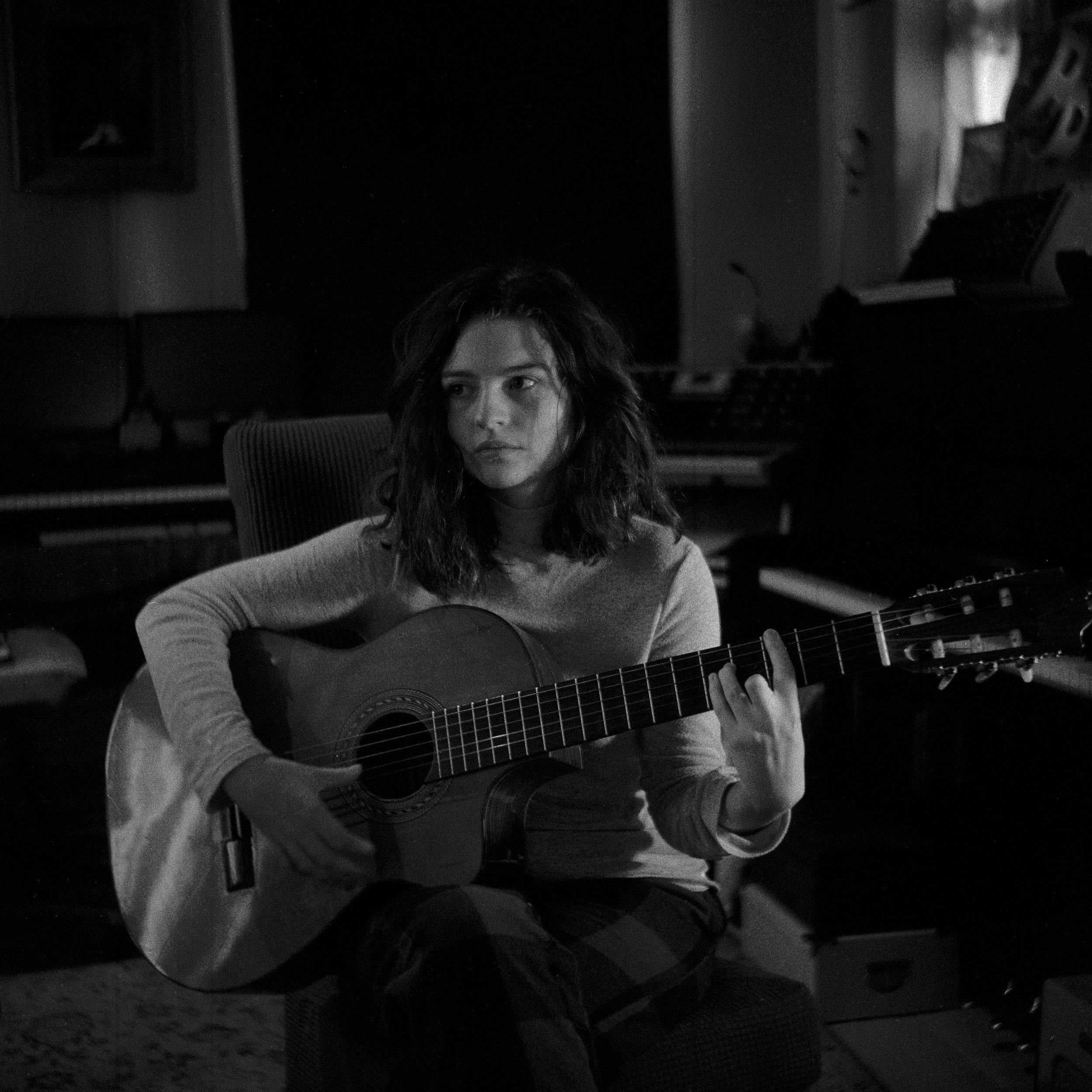 Saoirse Casey - Black & White - 120 Film - Lubitel 2