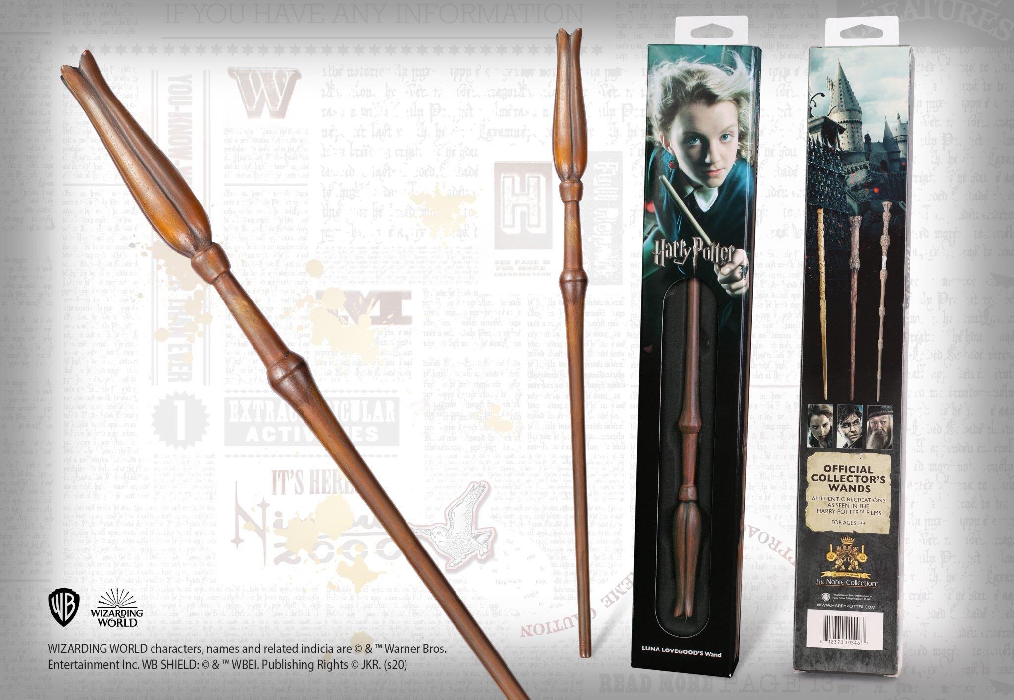 Wizarding World of Harry Potter Luna Lovegood Wand Replica