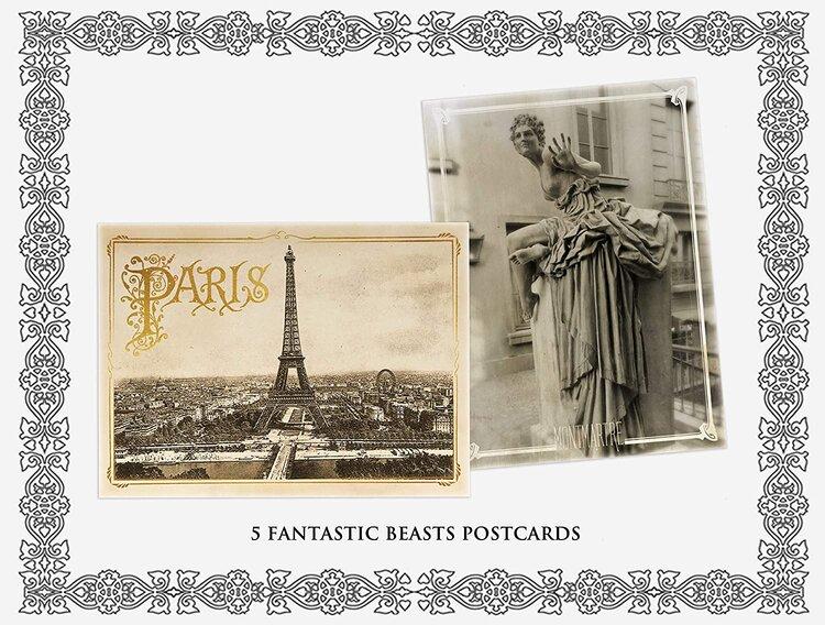 Wizarding World 10-Film Collection 2019 Blu-Ray 5 Fantastic Beasts Postcards.jpg