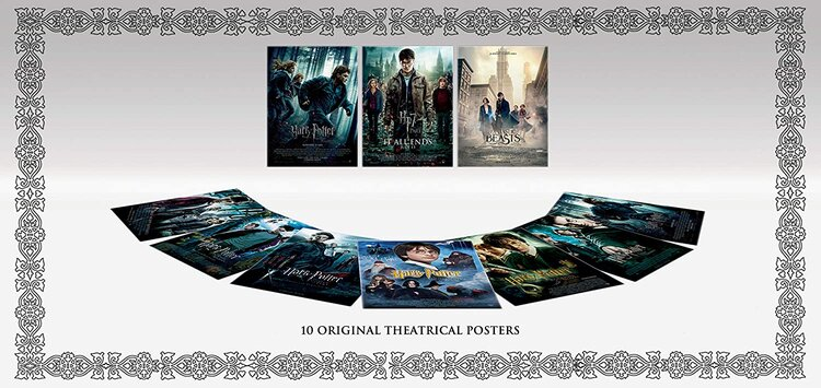 Wizarding World 10-Film Collection 2019 Blu-Ray 10 Original Theatrical Posters.jpg