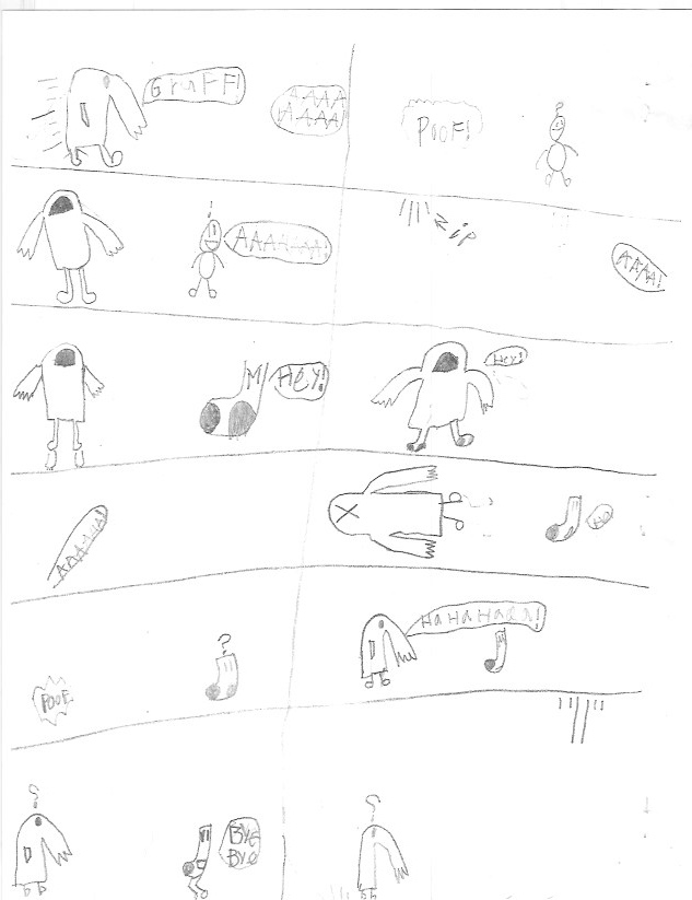Super Sock & Land Man vs Gruff & Mask Man - Page 1