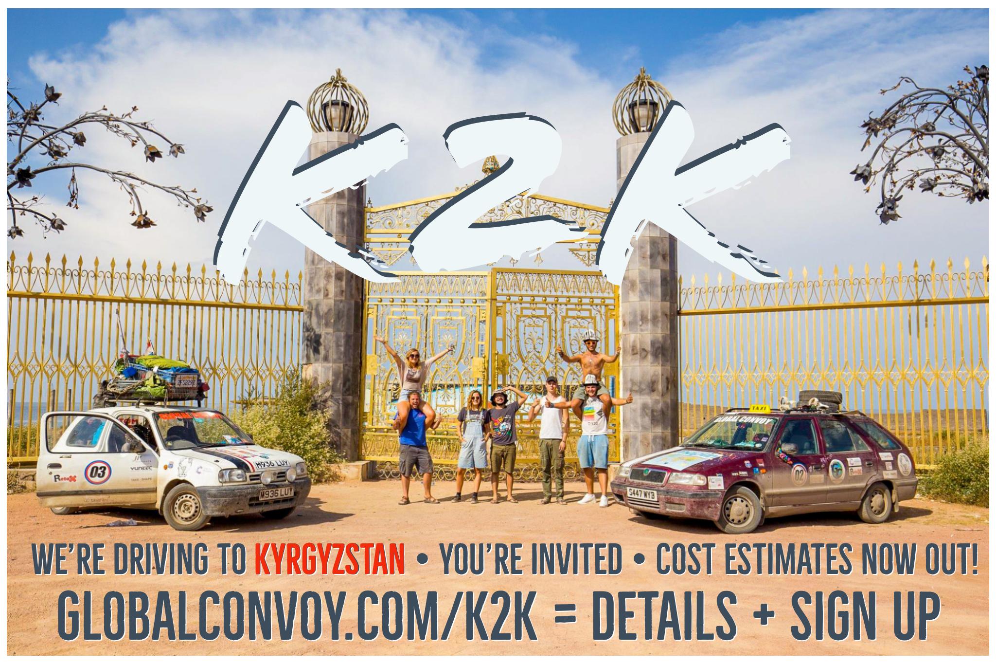 THE KONVOY TO KYRGYZSTAN - 7th August to 15th November, 2019Eurasia