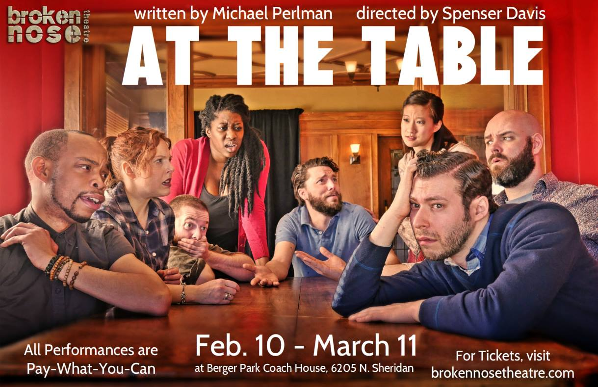 AT THE TABLE.   Midwest Premiere.