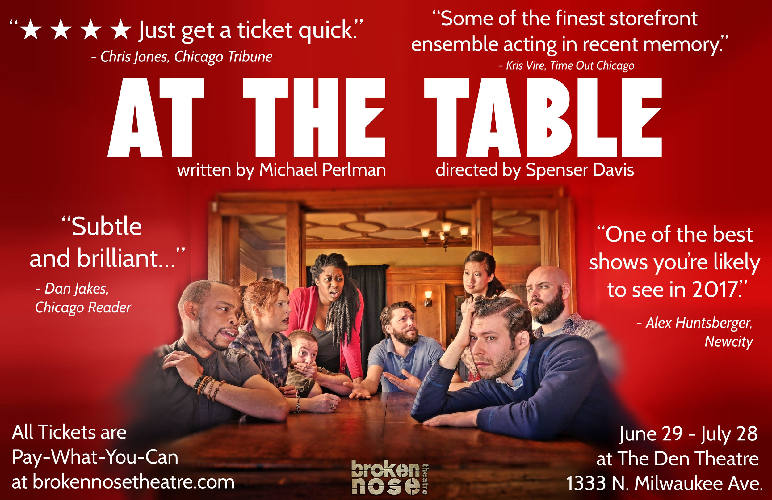 AT THE TABLE.   Summer Remount.