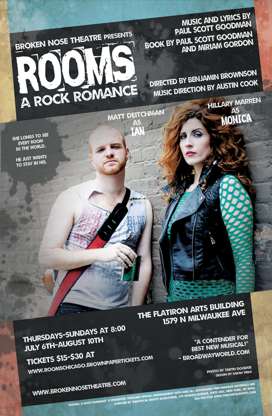 ROOMS: a rock romance.   Chicago Premiere.