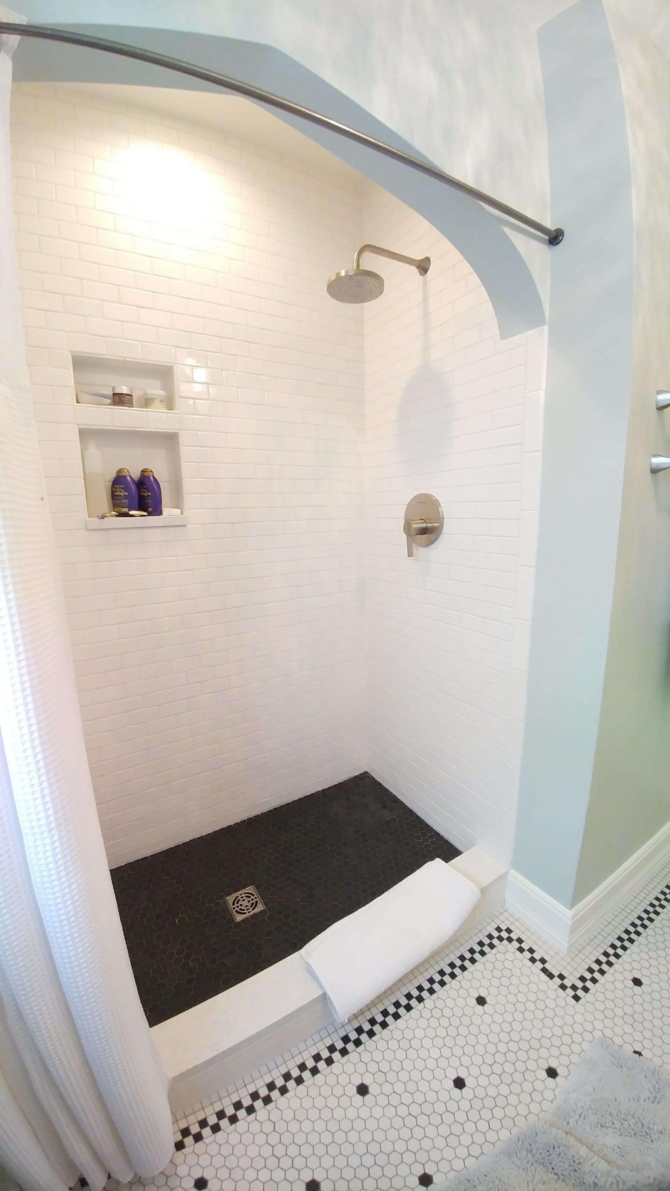 Full bathroom remodel in Parkhill Denver