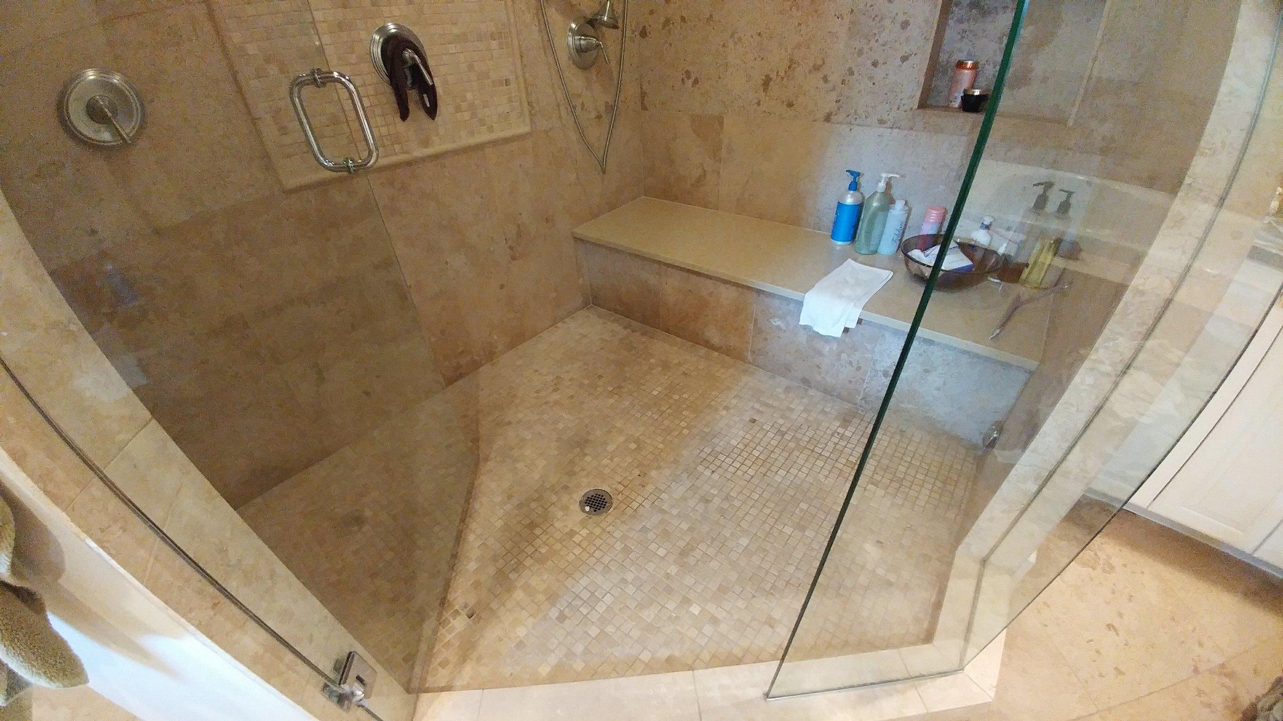 Steam shower Cherry Creek Denver