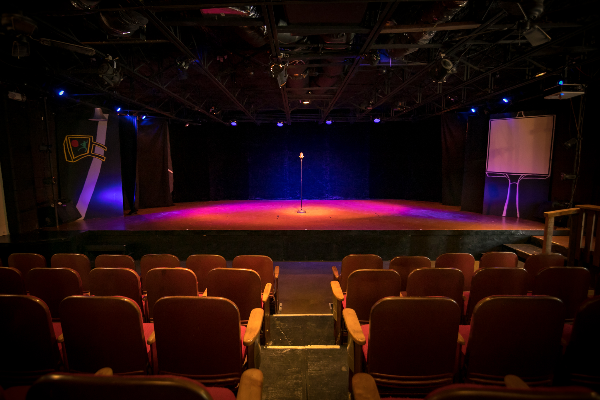 Theater Rental - Santa Cruz is a creative space critically designed for Artists, the Arts, and Arts Patrons. The theater's overarching goal is to structure the most intimate theatrical space for creating unforgettable performance events!