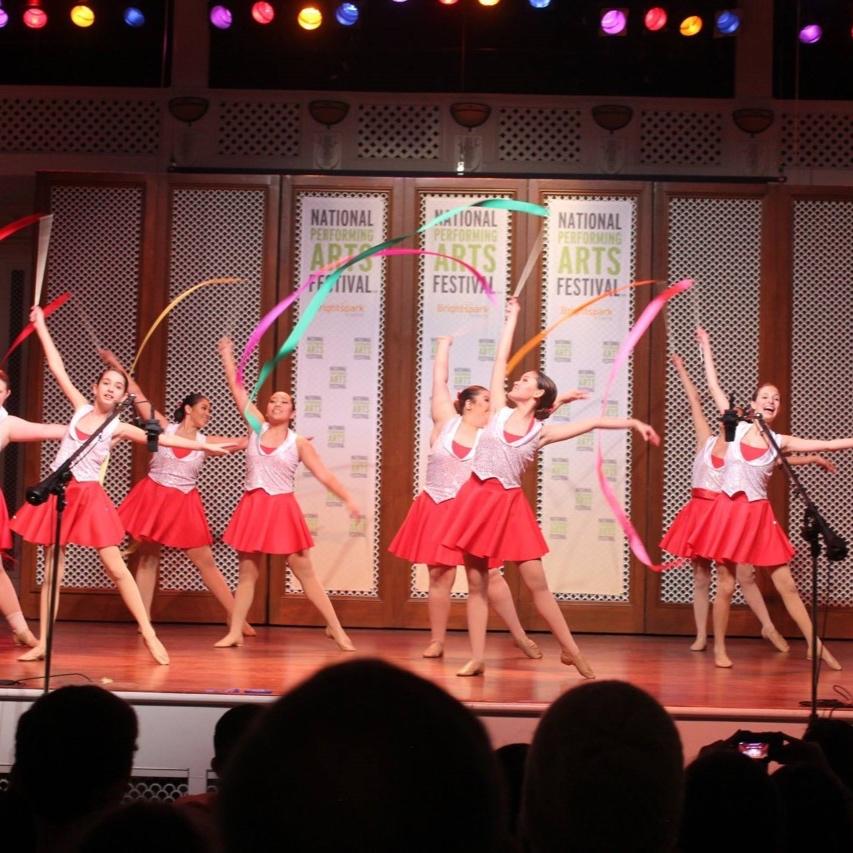 Choreography by Thomas Olson, photographed at National Performing Arts Festival