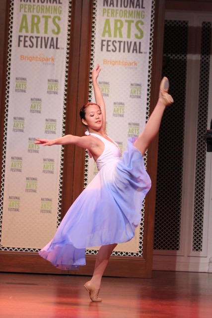 "Pictured Kira Fung, performing ""I Try"" choreographed by Thomas Olson"