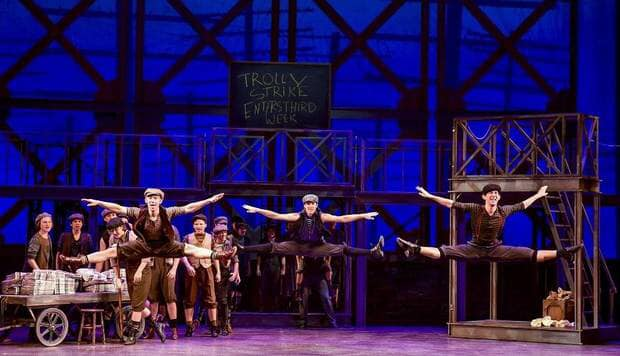 Disney's Newsies 2019 - Summer of 2019 I had the amazing opportunity to perform with Lyric Theatre of Oklahoma, in their production of Disney's Newsies. It was an experience like no other where I got to live my newsie dreams to the fullest. Ashley Wells Directed with Amy Reynolds-Reed Choreographing and Jan MacDaniel Vocal Directing. The entire process was a dream come true. For more pictures check out my social media!Pictured from left to right: Josh Jenkins, Easton Edwards, Thomas Olson (Me!)