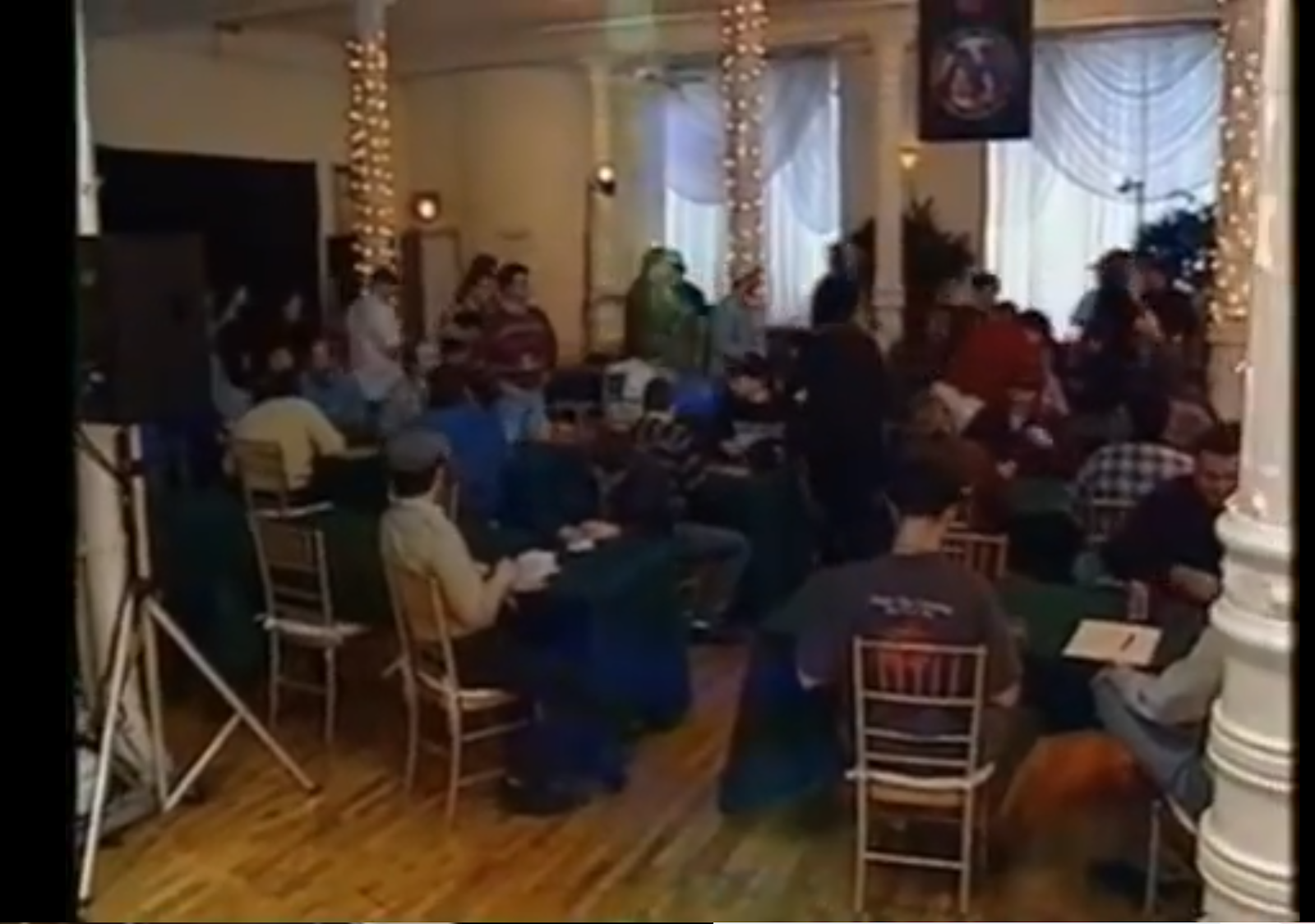 """Archival image of Magic's first """"Pro Tour"""" event, 1996's Showdown In New York"""